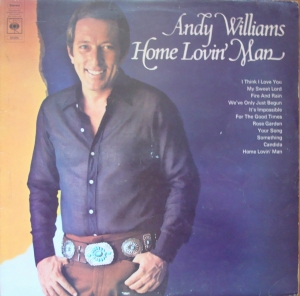 Andy Williams ‎– Home Lovin' Man S 54286Winyle Easy Listening  Pop   Vinyle