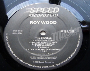 Roy Wood The Singles SPEED 1000 Wizzar, ELO, The Move