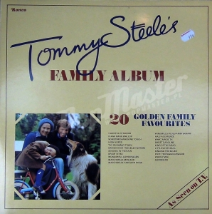 Tommy Steele Tommy Steele's Family Album 20 Golden Family Favourites RTD 2041