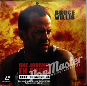 Die Hard 3: Une journée en enfer, Die Hard 3: With A Vengeance  Bruce Willis, Jeremy Irons, Samuel L. Jackson (1995) [22/4199] Laser Disc