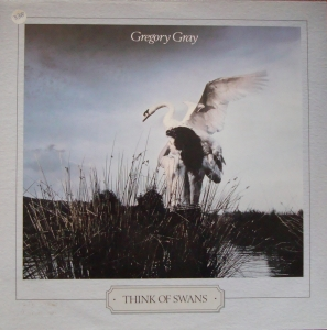 Gregory Gray ‎– Think Of Swans  CBS 26655 Promo Copy  Rock, Pop Disques