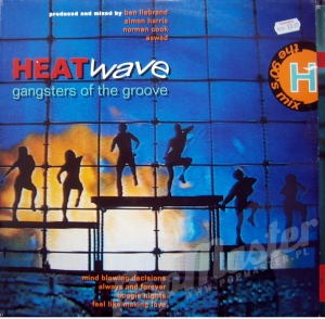 HEATWAVE GANGSTERS OF THE GROOVE  STAR 2434 TANIE WINYLE Hip-hop