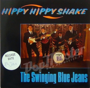 The Swinging Blue Jeans Hippy Hippy Shake Promo Copy EM 83