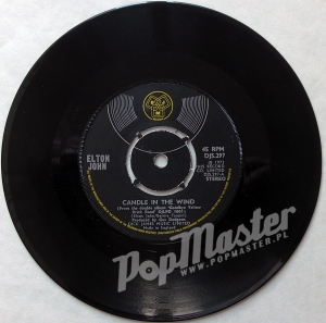 "Elton John Candle In The Wind / Bennie And The Jets  DJS 297 7"" Single Rock Winyl"