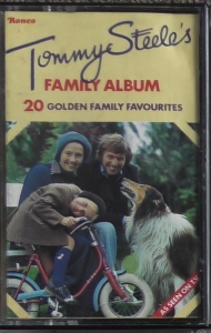 Tommy Steele ‎– Tommy Steele's Family Album   Ronco ‎– 4C/RTD 2041   Cassette, Compilation
