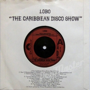 Lobo The Caribbean Disco Show POSP 302