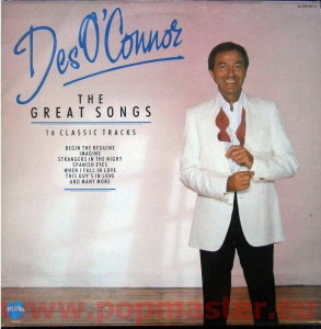 DES O'CONNOR  THE GREAT SONGS 16 CLASSIC TRACKS  STAR 2260