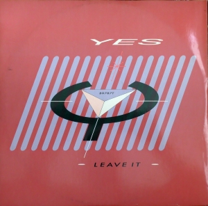Yes ‎– Leave It  ATCO Records ‎– B9787T