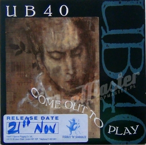 UB 40 Come Out To Play  Promo Copy DEP 31
