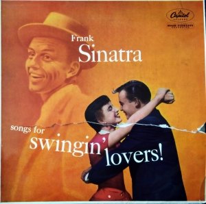 Frank Sinatra ‎– Songs For Swingin' Lovers! Capitol Records ‎– LCT 6106