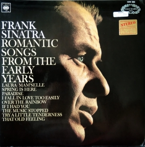 Frank Sinatra ‎– Romantic Songs From The Early Years  Hallmark Series ‎– SHM 500