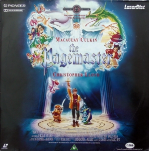 The Pagemaster (1994) Laserdisc - Pioneer PLFEB 33581