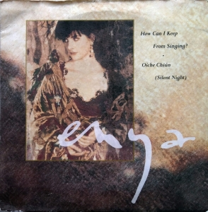 Enya ‎– How Can I Keep From Singing?  WEA ‎– YZ635