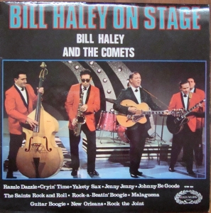 Bill Haley And The Comets ‎– Bill Haley On Stage  SHM 694  A1 / B1  Rock,Rock & Roll Vinyl-Schallplatten