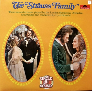 THE STRAUSS FAMILY  2 LP SET, płyta winylowa