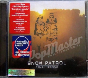 Snow Patrol Final Straw Special Edition  9866089