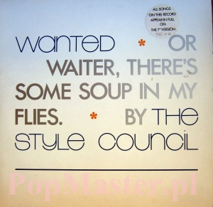 THE STYLE COUNCIL WANTED 887 174-1  TSCX 14 45 45 RPM 12""
