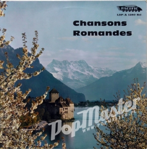 "Chansons Romandes 10""  PACIFIC Records  LDP.A. 1280 Std"