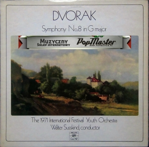 Dvorak Symphony No.8 In G Major Walter Susskind The 1971 International Festival Youth Orchestra SMS 2782