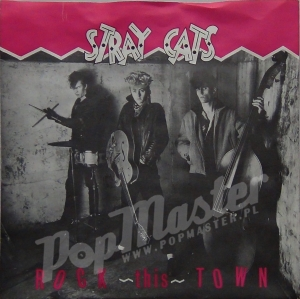 Stray Cats Rock This Town SCAT 2-A Rockabilly Winyl