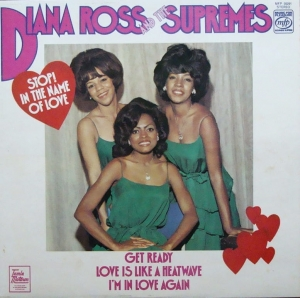 Diana Ross And The Supremes ‎– Stop! In The Name Of Love   MFP 50291 Stereo
