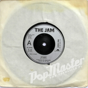 The Jam Start  2059 266 Silver Injection Moulded Labels