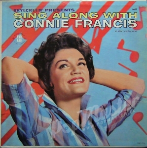 Connie Francis Sing Along With Connie Francis And The Jordanaires Mati-Mor 8002