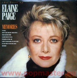 ELAINE PAIGE THE BEST OF ELAINE PAIGE MEMORIES   STAR 2313