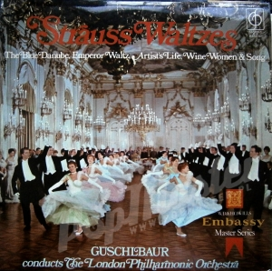 STRAUSS WALTZES LONDON PHILHARMONIC ORCHESTRA GUSCHLBAUER CFP 165 STEREO