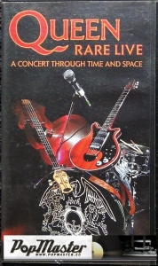 Queen Rare Live A Concert Through Time And Space MVP 991189 3 VHS Cassette