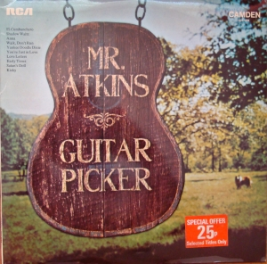 Chet Atkins Mr. Atkins ‎– Guitar Picker CDS 1090 Folk, World, & Country Winyle