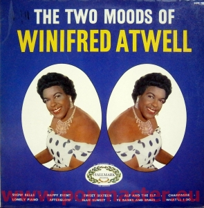 WINIFRED ATWELL THE TWO MOODS OF WINIFRED ATWELL HM. 527 VINYL