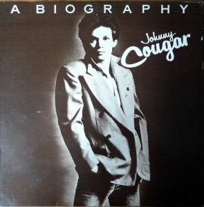 Johnny Cougar ‎– A Biography  Riva  ‎– RVLP 6, Płyta winylowa