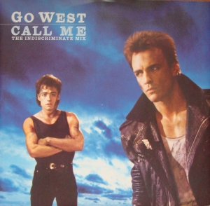 "Go West ‎– Call Me, 12"" GOWX 1 Synth-pop Winyle"