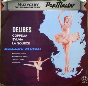 Walter Goehr Orchestra Of The Concerts De Paris Delibes Coppelia Sylvia La Source Ballet Music SMSC 2151