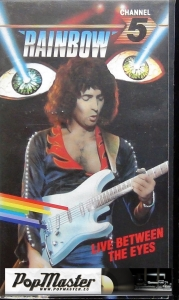 Rainbow Live Between The Eyes CFV 00262 VHS Cassette