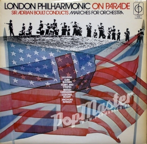 Sir Adrian Bolt Conducts Marches For Orchestra London Philharmonic On Parade CFP 173 Marsze Płyty Winylowe