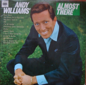 Andy Williams ‎– Almost There   BPG 6253  Winyle    Pop Easy Listening  Vinyle