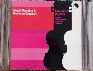 Yehudi Menuhin & Stephane Grappelly ‎– Fascinatin' Rhythm EMD 5523  Vinyl, LP, Album