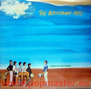 THE BOOMTOWN RATS A TONIC.. Sign by Garry Roberts and someone else ENVY 3