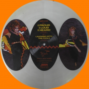 Toyah ‎– Be Proud Be Loud (Be Heard) Safari Records ‎– SAFE LX 52