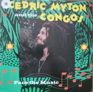 Cedric Myton & The Congos ‎– Face The Music BEAT 4, A1 / B1 Reggae Vinyl-Schallplatten