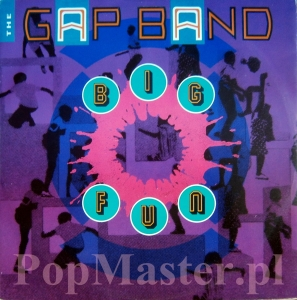 THE GAP BAND  BIG FUN FT 49780 45RPM 12""
