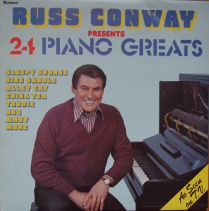 Russ Conway ‎– 24 Piano Greats  RTL 2022  Easy Listening Winyle