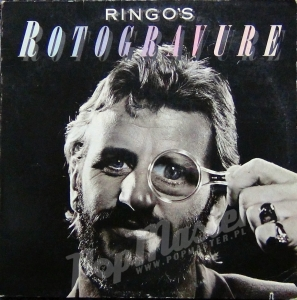Ringo Starr Ringo's Rotogravure  SD 18193 Cut Out Cover