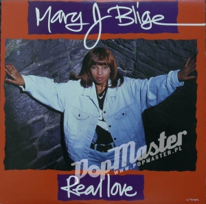"Mary J Blige Real Love 12"" Single UPT12 54456"