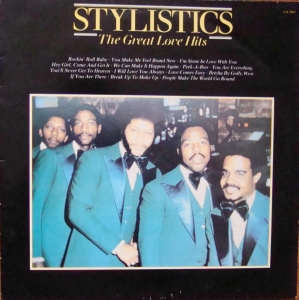 Stylistics ‎– The Great Love Hits CN 2061  Biały label promo copy