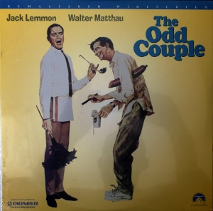 The Odd Couple Jack Lemmon Walter Matthau (1968) 097360802665