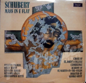 SCHUBERT MASS IN E FLAT ACADEMY OF ST. MARTIN-IN-THE-FIELDS GEORGE GUEST  ZRG 825 Sealed