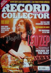 RECORD COLLECTOR Kwiecień 2013 No.413 LED ZEP, UK SUBS,